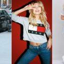 แมทช์เสื้อ สีเทา ของ TOMMY Jeans ให้ลุคสวยชิล